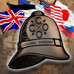 Colonial Conquest - Colonial Conquest is a conquest simulation set in the Victorian age of warfare and expansion of the late 1800's and early 1900's. - logo