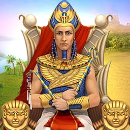Cradle Of Egypt Collector's Edition - Explore the land of the Pharaohs and build the Great Pyramids in this Match-3 puzzle game. Play the Collector's Edition of Cradle of Egypt! - logo