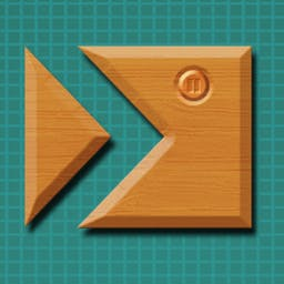 Cross Fingers - Cross Fingers is an engaging game which challenges you to combine solid pieces to form a gigantic tangram puzzle! - logo