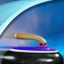 Curling - Take to the ice and play the Olympic sport of curling. Curling is a game of strategy and precision. Play against the computer or online! - logo