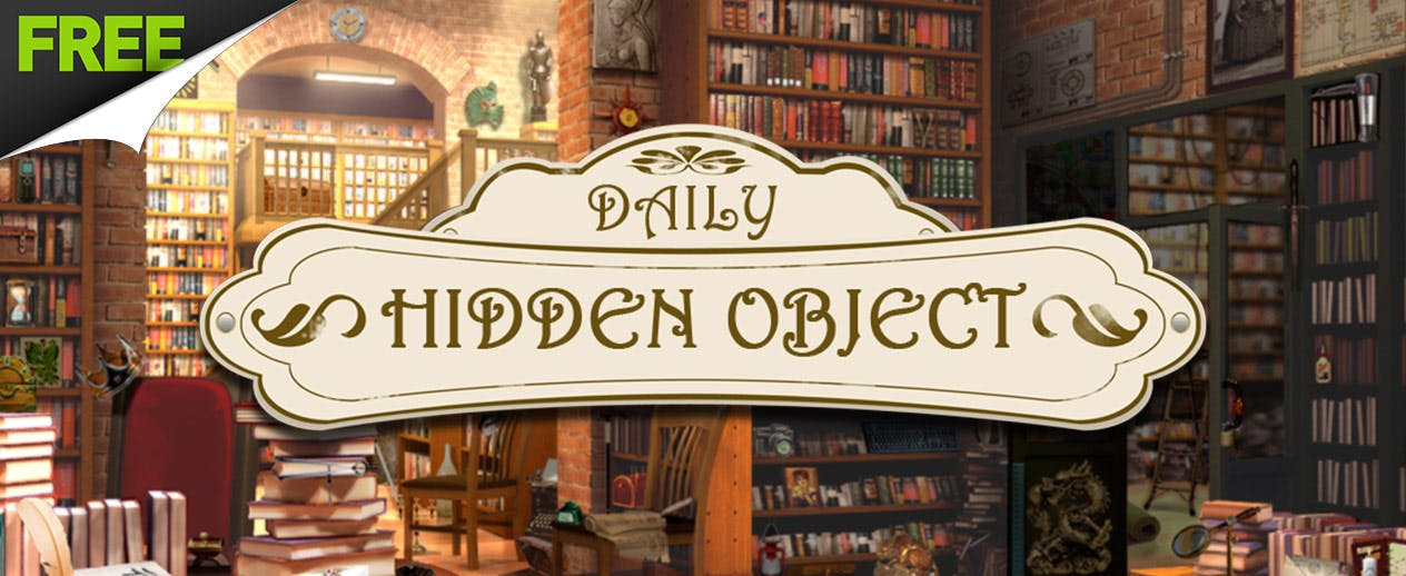 Daily Hidden Object - Are you a budding detective?
