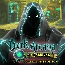 Dark Arcana: The Carnival Collector's Edition - Find the woman lost in a mysterious Carnival of Horrors. Play Dark Arcana: The Carnival Collector's Edition - logo
