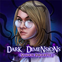 Dark Dimensions: Shadow Pirouette - Dance with danger in this absorbing Hidden Object Puzzle Adventure game! - logo