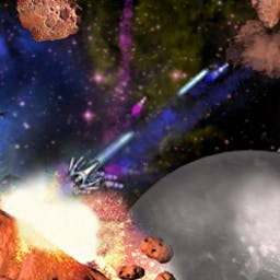 Dark Matter - Blast a galaxy full of enemies and asteroids to oblivion! - logo