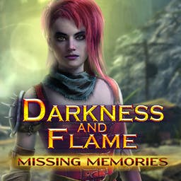 Darkness and Flame: Missing Memories - Face many trials, solve dozens of puzzles, and ultimately face the dark army threatening the whole world! Will you succeed in time? - logo