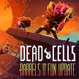 Dead Cells - You'll explore a sprawling, ever-changing castle... assuming you're able to fight your way past its keepers in 2D souls-lite combat. - logo