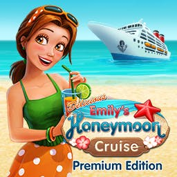 Delicious: Emily's Honeymoon Cruise Premium Edition - Join newlyweds Patrick and Emily in the time management game Delicious: Emily's Honeymoon Cruise Premium Edition. Comes with bonus content! - logo