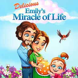 Delicious Emily's Miracle of Life - Help Emily through the ups and downs of her pregnancy! - logo