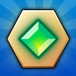 Diamonds Paradise - Defeat your opponent by creating a chain of diamonds. Use special weapons to gain more firepower. Play Diamonds Paradise today! - logo