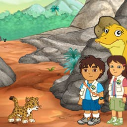 GO Diego GO! Dinosaur Rescue - Play games, take pictures, and help the dinosaurs in Diego Dinosaur Rescue! - logo