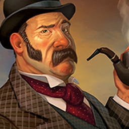 Doctor Watson: Treasure Island - Players will experience exciting adventure as Dr. Watson in fantastic locations. Treasure Island is the first part of this 3D hidden object series. - logo