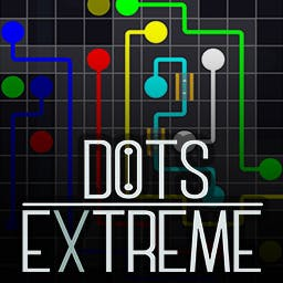 Dots eXtreme - Connect matching colors and shapes, use bridges and tubes to complete more than 500 handmade puzzles. - logo