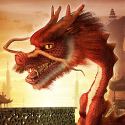 Dragon Dollars Slots - Dragon Dollars Slots is an amazing Asian-themed slots game. A fiery dragon fans the flames as you strive to win the Lucky Coin Feature! - logo