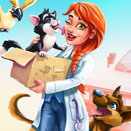 Dr. Cares: Pet Rescue 911 Collector's Edition - In Dr. Cares: Pet Rescue 911 you'll get the chance to become a real vet. How does taking care of adorable animals across 60 story levels sound? - logo