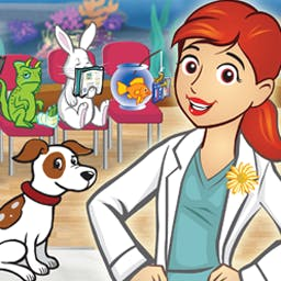 Dr. Daisy Pet Vet - Help Dr. Daisy nurse her furry and feathered friends back to health! - logo