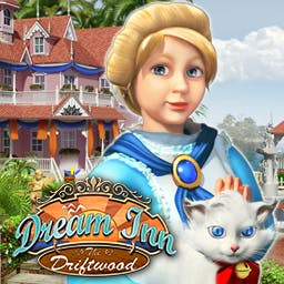 Dream Inn: The Driftwood - Dream Inn: The Driftwood is a lovely hidden object game. Explore luxurious guest suites, collect hidden objects, and transform each room! - logo
