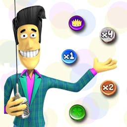 Drop'Em Deluxe - Plunk down your bet and watch it bounce in this wacky game! - logo