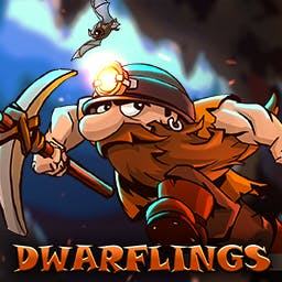 Dwarflings - On your road to freedom, you will meet not only hordes of enemies, but also some friendly and helpful characters. - logo