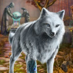 Echoes of the Past Wolf Healer -  - logo