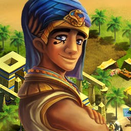 Egyptian Settlement 2: New Worlds - Become the Pharaoh's architect in Egyptian Settlement 2: New Worlds, a simulation strategy game. - logo