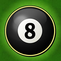 8 Ball Not 2048 - Swipe to combine matching pool balls. Sink the 8 ball to win. Play the puzzle game 8 Ball Not 2048 today! - logo