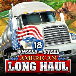 18 Wheels of Steel: American Long Haul - Chase the American Dream behind the wheel of your own big rig. - logo