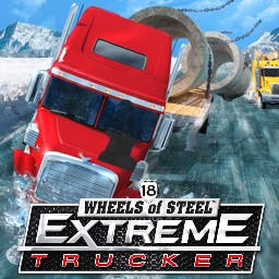 18 Wheels of Steel: Extreme Trucker - Hit the road like never before in 18 Wheels of Steel Extreme Trucker! - logo