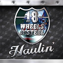 18 Wheels of Steel: Haulin' - You've got 18 Wheels of Steel Haulin' from sea to shining sea! - logo