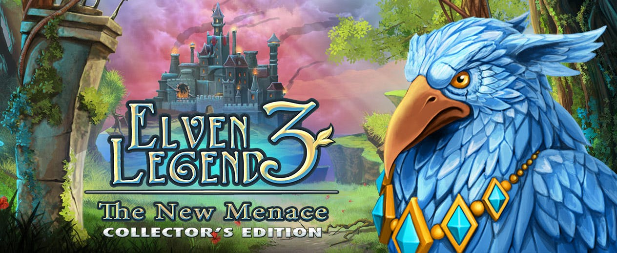 Elven Legend 3: The New Menace Collector's Edition - Help Aerin to protect the kingdom! - image