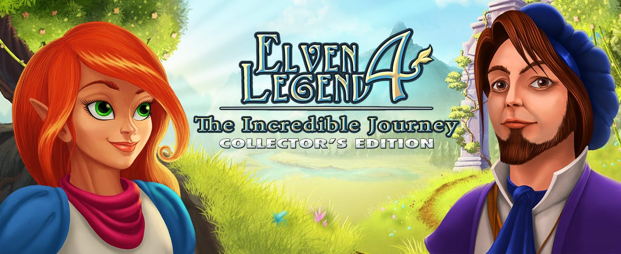 Elven Legend 4: The Incredible Journey Collector's Edition - Save Tillian's world! - image