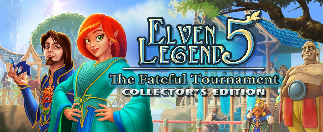 Elven Legend 5: The Fateful Tournament Collector's Edition - Help Tillian win the tournament - image
