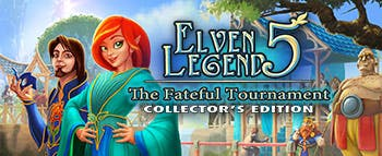 Elven Legend 5: The Fateful Tournament Collector's Edition - image