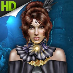 Empress of the Deep HD - Explore over 140 breathtaking scenes to stop the evil Empress of the Deep from destroying everything. Play now on your Android device in dazzling HD! - logo
