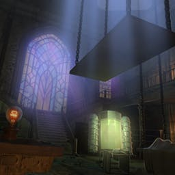 Escape from Frankenstein's Castle - Escape from Frankenstein's Castle is a spooky puzzle-adventure game! - logo