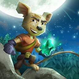 Ethan Meteor Hunter - Ethan: Meteor Hunter cleverly combines the puzzle and platformer genres.  Pause time and move objects to make it through the 50+ levels. - logo