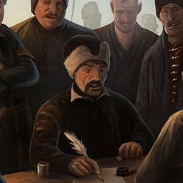 Europa Universalis IV: Cossacks DLC - The Cossacks is the sixth major expansion for Europa Universalis IV and focuses on Hordes and Eastern Europe. - logo