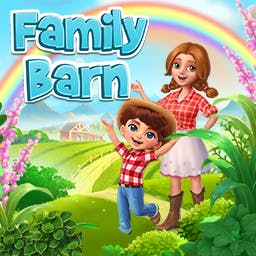 Family Barn - Build and organize your own village and become the best farmer in town. Enjoy the true country life with Family Barn. - logo