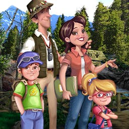 Family Vacation 2: Road Trip - Get ready for a cross-country, hidden object adventure in Family Vacation 2: Road Trip! - logo