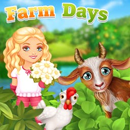 Farm Days - Fish, farm, cook, mine and more in the online simulation game Farm Days! - logo