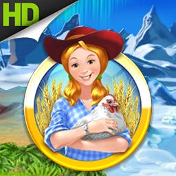 Farm Frenzy 3 HD - Time-management in Africa, Russia, the Wild West, an untamed jungle and more! - logo