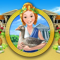Farm Frenzy: Ancient Rome - Farm your land to support Roman soldiers in Farm Frenzy: Ancient Rome! - logo
