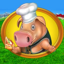 Farm Frenzy - Pizza Party - Head back to the farm for start-to-finish YUM in Farm Frenzy - Pizza Party! - logo