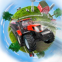 Farming Giant - A huge game world, a variety of production processes and trade opportunities and various game modes as well as achievements provide long-lasting fun. - logo