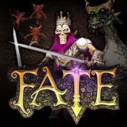 FATE - Determine your FATE - battle monsters in dark dungeons in this superb RPG! - logo