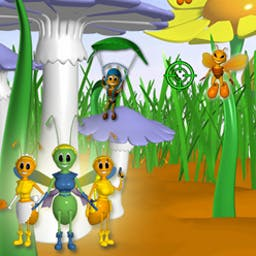 Feelers - Can you save the bug kingdom from disaster? Protect the eggs! - logo