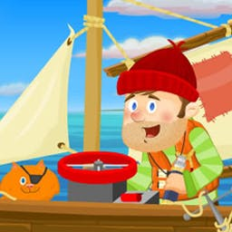 Finders Keepers - Join Floyd Finders and sidekick Goldie on a valiant high-seas adventure! - logo