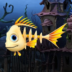 Fishdom Spooky Splash - * Editor's Pick * Design a Halloween-themed aquarium for your tropical fish friends in the Match 3 game Fishdom Spooky Splash! - logo