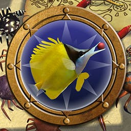 Fish vs. Crabs - Save your eggs and protect your reef from rampaging crustaceans in Fish vs. Crabs, a 3D, underwater, tower defense game! - logo