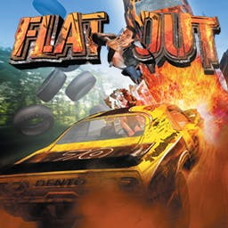 FlatOut - FlatOut is action-packed track racing at its metal-grinding best! - logo