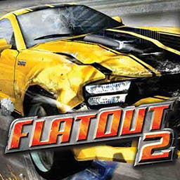 FlatOut 2™ - But you might want to cause a few. In these high-speed races, the more damage you inflict, the better. - logo